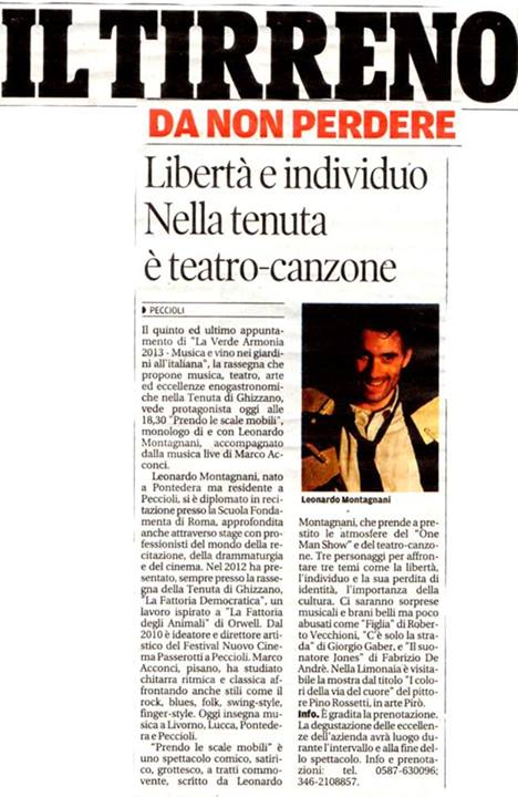 Il Tirreno 2013 Montagnani