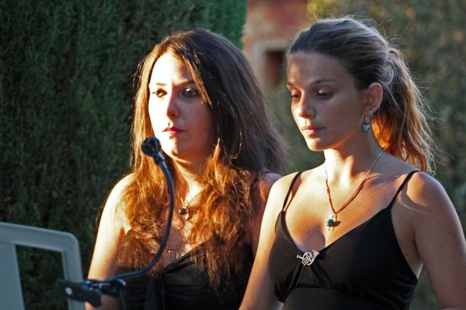 MARGHERITA FLORE E MAELA NICOLETTI CONCERTO LIRICA 2012 GIARDINO ALL'ITALIANA DI VILLA PESCIOLINI