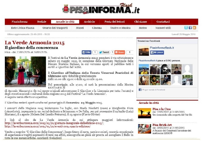 Pisa informa