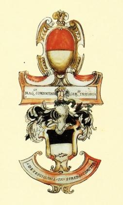 Lo stemma dei conti Venerosi Pesciolini