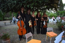 Francesca con Quartetto Sincronie